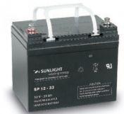 Акумулатор SUNLIGHT 12V/33Ah