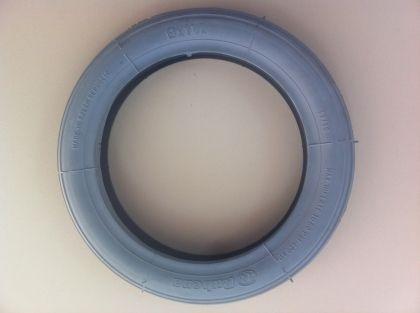 Външна гума за инвалидна количка РУБЕНА размер 8 x 1 1/4 сива