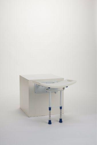 Сгъваема седалка за баня  Vermeiren ГРЕЙС