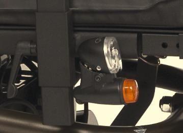 Осветление за акумулаторна количка ФОРЕСТ