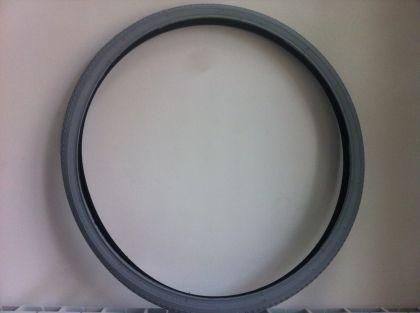 Външна гума за инвалидна количка Рубена размер 24x1 3/8 сива