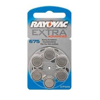 Батерии за слухови апарати RAYOVAC A675