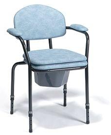 Комбиниран стол за баня и тоалет с регулируема височина Vermeiren 9063