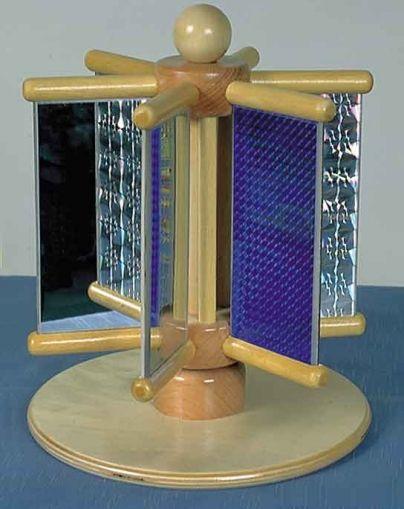 Въртящи се дифракционни огледала