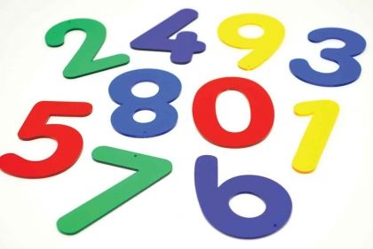Многоцветни цифри