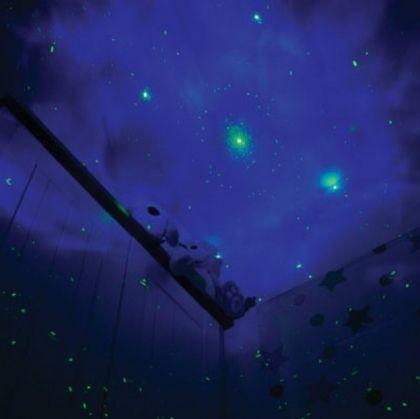 Лазерен проектор с звезди