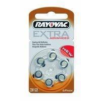 Батерии за слухови апарати RAYOVAC 312