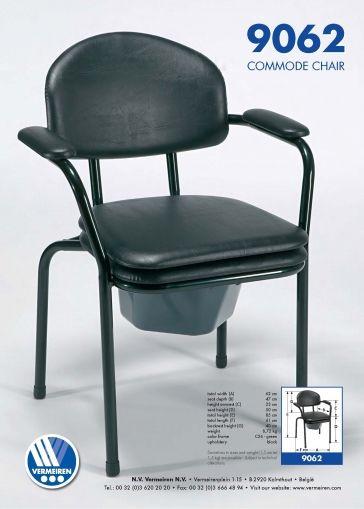 Комбиниран стол за баня и тоалет Vermeiren 9062