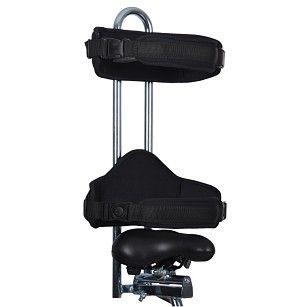Опора за таза, гърба и неопренов колан за скута за триколки Vermeiren Р3 + U80