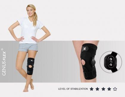 Отворена колянна ортеза с две шини AM-OSK-O/2