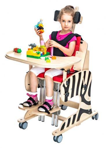 Терапевтичен стол за деца с увреждания ЗЕБРА