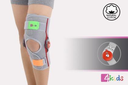 Детска отворена колянна ортеза с шини AM-DOSK-O/1R