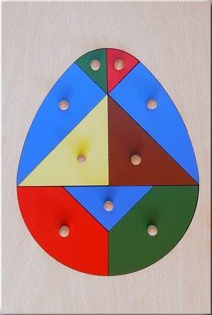 Дървена играчка Яйце