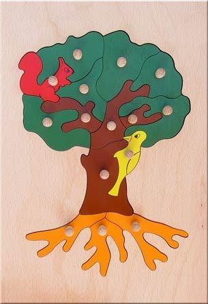 Дървена играчка Дърво