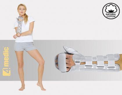 Ортеза за предмишница и ръка, със стабилизация за палеца AM-OSN-L-02
