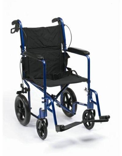 Алуминиева транспортна количка Драйв Медикъл EXP19BL