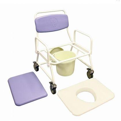 Бариатричен стол за тоалет и баня