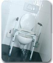 Тоалетен стол, регулиращ се във височина Vermeiren СТЕЙСИ