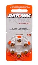 Batteries for hearing aids RAYOVAC А13