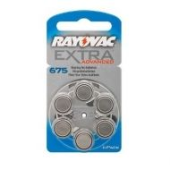 Batteries for hearing aids RAYOVAC A675