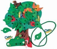 Дърво със закачащи се листа