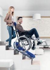 Устройство за изкачване на стълби за инвалидни колички серия 04