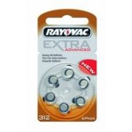 Batteries for hearing aids RAYOVAC 312
