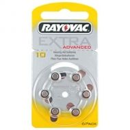 Batteries for hearing aids RAYOVAC 10