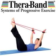 Thera-Band Exercise Band 2.5 meters with Zipper Bag