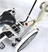 Crutch holder for tricycle Vermeiren E6