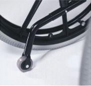 Anti-tipping wheels B78