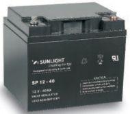Batteries for wheelchairs  SUNLIGHT 12V/40Ah