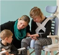 Презрамки за гръдния кош и раменете за комбиниран стол Rifton HTS