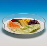 Прозрачен пластмасов протектор за чиния 20-25см