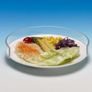 Прозрачен пластмасов протектор за чиния 20-30см