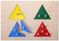 "Special need toy ""Triangles"""