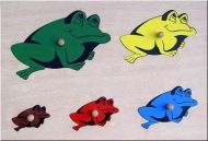 "Special need toy ""Frogs"""