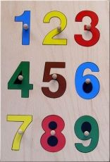 "Special need toy ""Numbers"":"