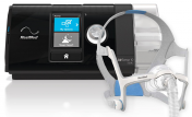 Set of CPAP Device, Humidifier and Nasal Mask
