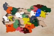 "Special need toy ""Map of Bulgaria"""