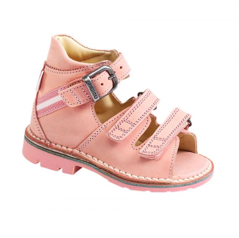 1c1152c0b7d Ортопедични сандали PIEDRO розови 2545 / 2573 | Adapt.bg