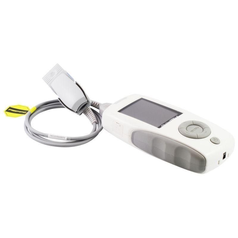 Пример за уред за измерване на сатурация при ковид пациенти.