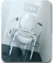 Adjustable toilet chair Vermeiren STACY