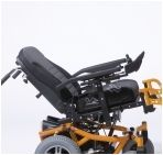 Automatic adjustment of angle of the seat for power wheelchair FOREST SE40
