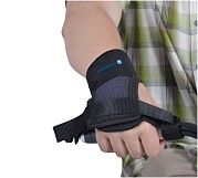 Hand and wrist support for tricycle Vermeiren E10