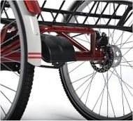 Disc brake on the rear wheel for tricycle Vermeiren B1