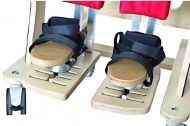 3D foot adjustment for vertical stander and chair DALMATIAN DMI_103