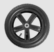 Rear wheel with inflatable tire for RACER+ RCR_701