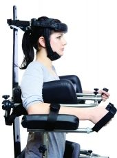 Head support with stabilizing belt for size 0